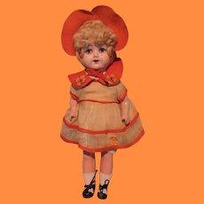 "Factory Original 17"" Madame Hendren Composition Doll ~ Lenci Like"