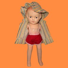 """Swimming Fun Nancy by Arranbee 12"""" Composition Doll ~ Adorable"""