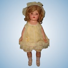 "Very Pretty 22"" Composition Mama Doll ~ Pure Sunshine"
