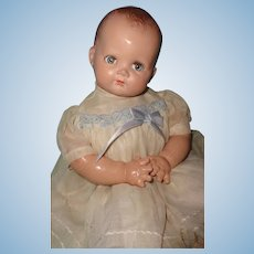 1940s Composition Transitional Baby Doll ~ Cutie Pie