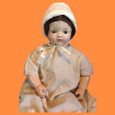"Early 21"" Effanbee Composition Mama Doll"