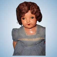 "Big Chunky 25"" Composition Mama Doll ~ Pretty"