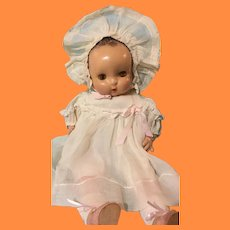 "Beautiful 18"" Horsman Sister Composition Baby Doll ~ Adorable"