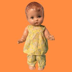 "Effanbee Candy Kid Composition Doll ~ 13"" version ` Cute"