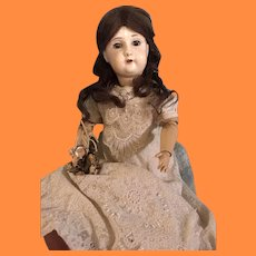 """23"""" German Ball Jointed Paper Mache' Composition Doll by M. Radar"""