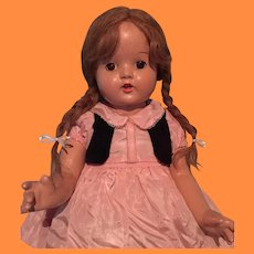 HTF Special Girl Composition Mama Doll By Madame Alexander ~ Factory Original Tagged Outfit