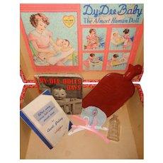 Effanbee Dy-Dee Baby FAO SCHWARTZ Layette Trunk w/ extras