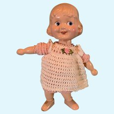 Margie Wood Segmented  and Composition Doll by J Kallus for Cameo