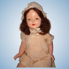 """Large 27"""" Horsman Composition Mama Doll ~ Very Pretty"""