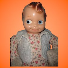Rare HUGE Cheerful Cherub Composition Doll by J. Kallus ~ Kewpie