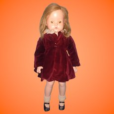 "Factory Original 26"" Patsy Ruth Composition Doll in Rare Outfit by Effanbee"