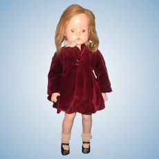 """Factory Original 26"""" Patsy Ruth Composition Doll in Rare Outfit by Effanbee"""
