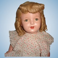 """Pretty 27"""" Large Composition Mama Doll"""