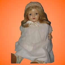 "Early 16"" Composition Mama Doll ~ Very pretty"