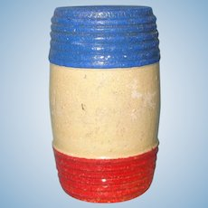 Schoenhut Circus Wood Barrel