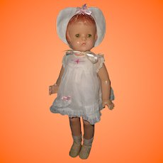 "Factory Original Effanbee 22"" Patsy Lou Composition Doll"