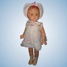 "Factory Original Effanbee 22"" Patsy Lou Composition Doll"