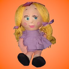Rare Mattel SHRINKIN VIOLETTE Talking Doll ~ Works!