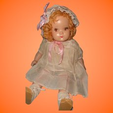 "Factory Original 21"" Composition Mama Doll ~Pretty"