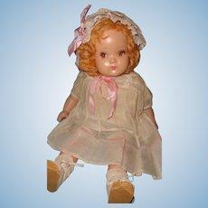 "Factory Original 21"" Composition Mama Doll ~Pretty"