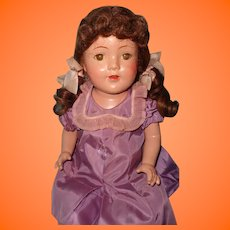 "Pretty Factory Original 24"" Composition Mama Doll"