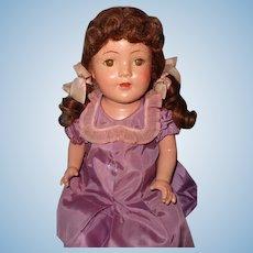 "Pretty Factory Original 24"" Composition Mama Doll"