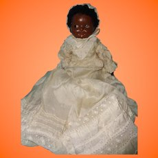 Sweet Early Black Composition Baby Doll