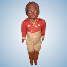 Early Factory Original Composition Boy Doll