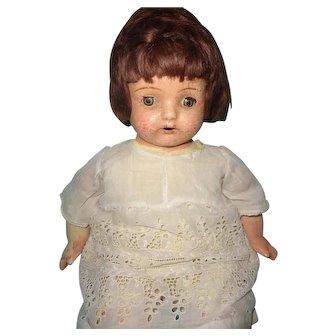 "20"" Madame Hendren Composition Mama Doll ~ TLC"