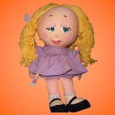 Mattell Shrinkin Violette Talking Doll w/ Box WORKS!   ~ RARE