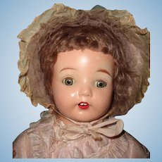"Chunky Factory Original 25"" Composition Mama Doll ~ Tagged"