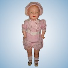 """Factory Original 28"""" Dimples Toddler Straight Leg Composition Baby Doll ~ Huge and Chunky"""