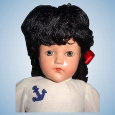 Effanbee TODAYS GIRL Composition Doll ~ Factory Original