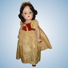 Factory Original Snow White Composition Doll by Madame Alexander ~ Tagged