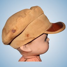 "Authentic Effanbee Skippy Army HAT for 14"" Composition Doll"