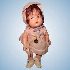 "Factory Original 8"" Dionne Quintuplet Evette Composition Doll by Madame Alexander ~ Cutie"