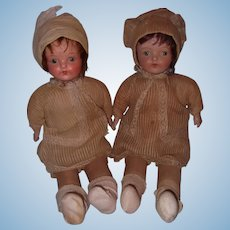 Composition Ideal Doll Twin Set Factory Original  ~ Sisters Forever