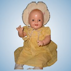 Large Chubby Composition Baby Doll ~ Pocket Full of Sunshine