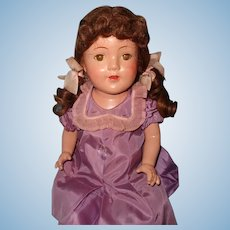"Pretty Factory Original 25"" Composition Mama Doll"