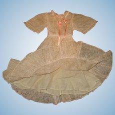 "Authentic Ideal Deanna Durbin Dress for 21"" Composition Doll ~TLC"