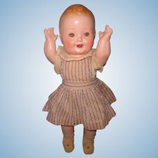 "Large 17"" Baby Sandy Composition Toddler Doll ~ Celebrity"