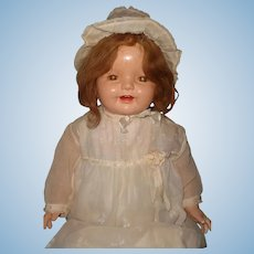 "Large 30"" Lovums Straight Leg Toddler Baby Doll ~ Cutie by Effanbee"