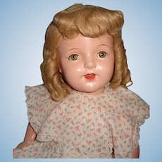 "Very Pretty 27"" Composition Mama Doll ~ Beautiful face"