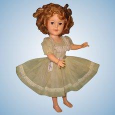 1950s Ideal Shirley Temple Vinyl Doll ~ TLC