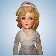 Factory Original Ideal Miss Curity Nurse Composition Doll ~ Beautiful Color