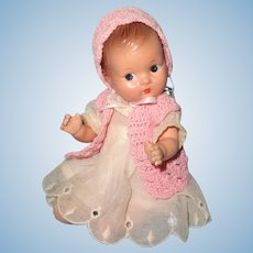 Adorable Effanbee Quint Type Composition Baby Doll