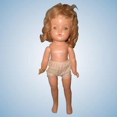 Madame Alexander BETTY Composition Doll ~TLC