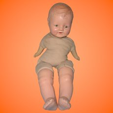 "Early 20"" Composition Baby Doll ~ Fixer Upper"
