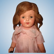 Stunning Factory Original Effanbee Mary Ann Composition Doll ~ Gift Giving Condition