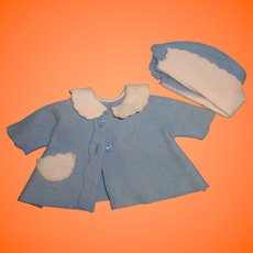 Factory Authentic Tiny Tears Doll Driving Coat